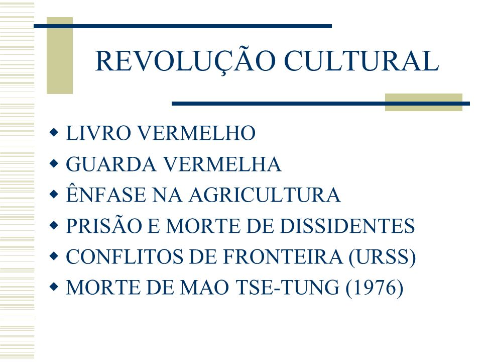 REVOLUÇÃO CULTURAL LIVRO VERMELHO GUARDA VERMELHA