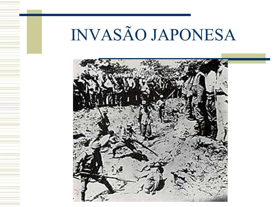 INVASÃO JAPONESA