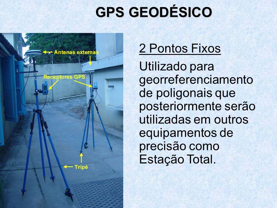 GPS GEODÉSICO 2 Pontos Fixos.