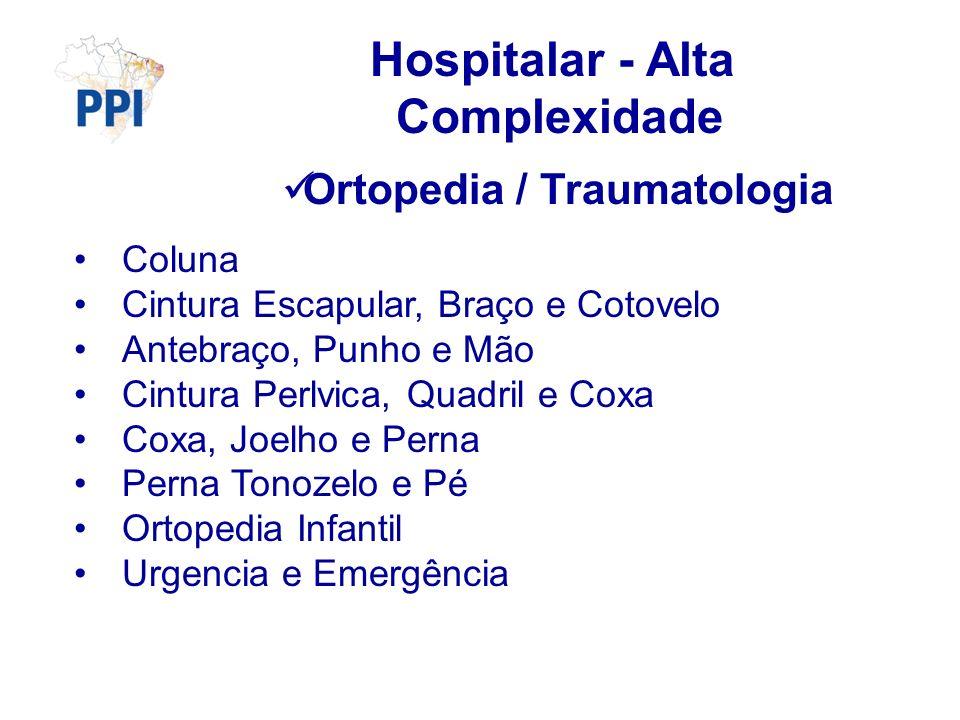 Hospitalar - Alta Complexidade