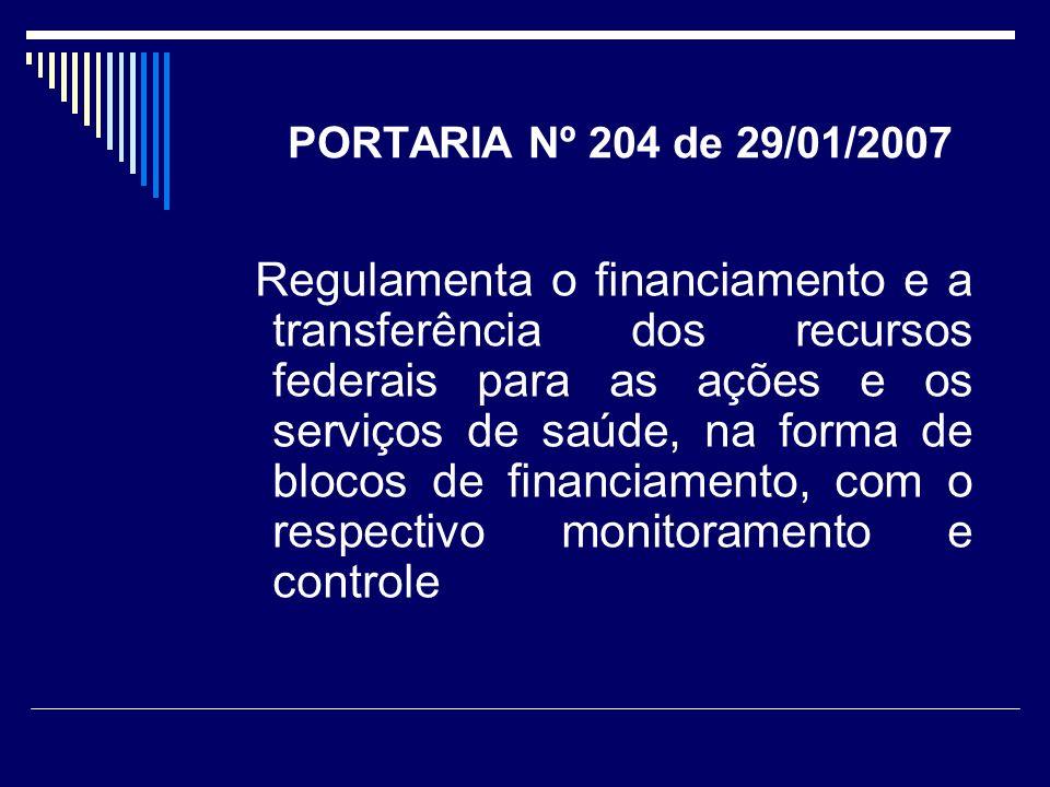 PORTARIA Nº 204 de 29/01/2007