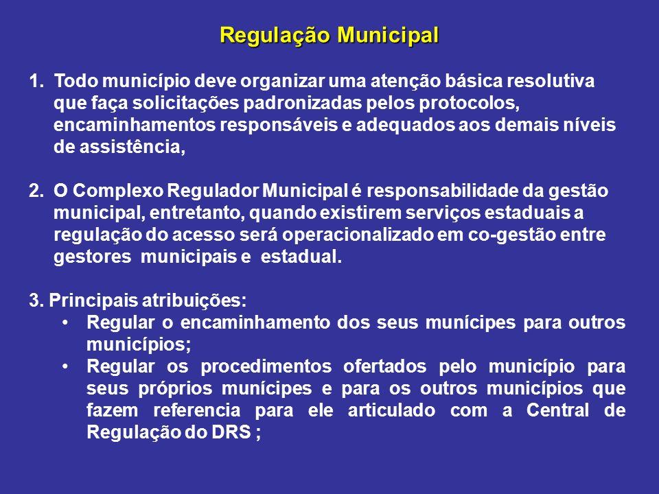 Regulação Municipal