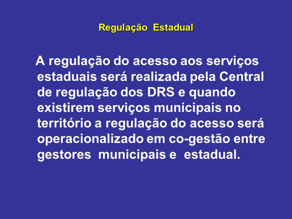 Regulação Estadual
