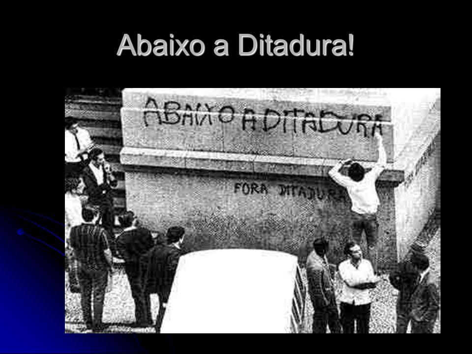 Abaixo a Ditadura!