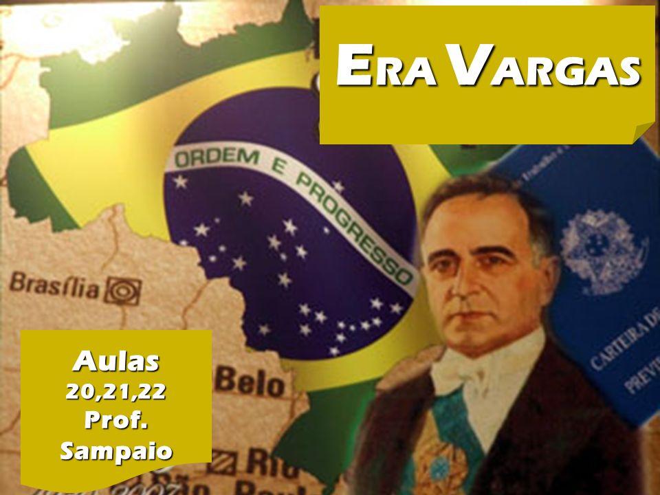 ERA VARGAS ERA VARGAS de1930 a 1945 Aulas Prof. Sampaio INTRODUÇÃO