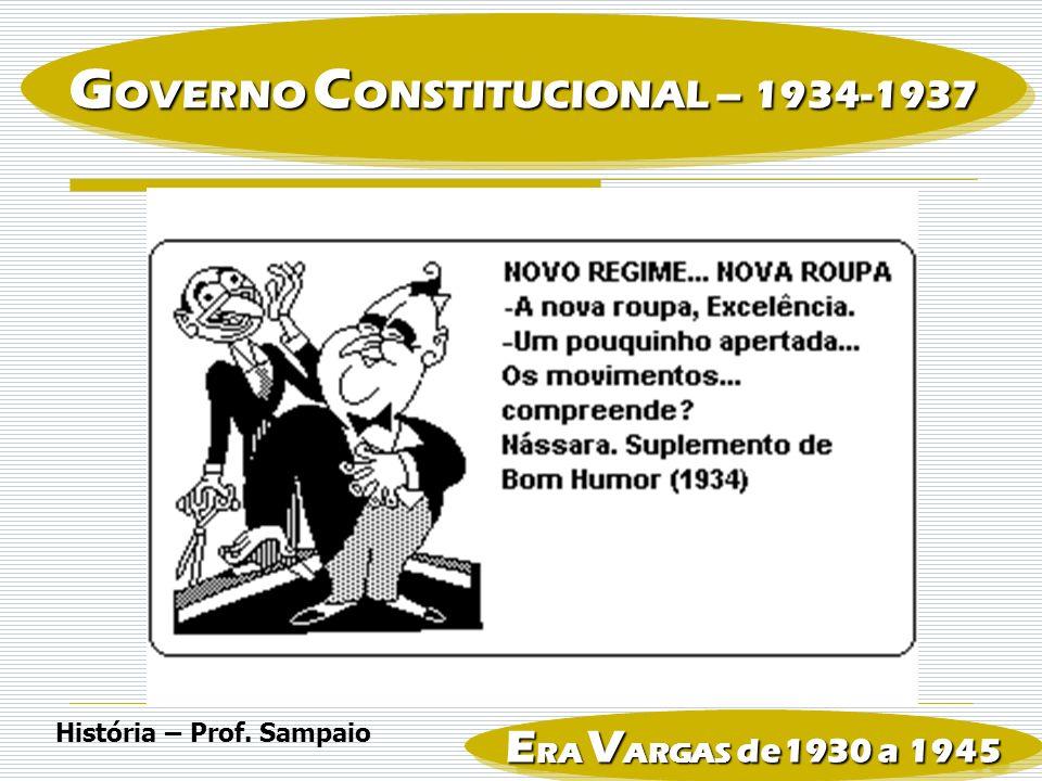 GOVERNO CONSTITUCIONAL – 1934-1937