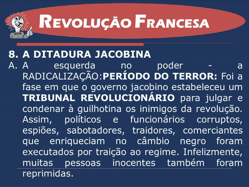 REVOLUÇÃO FRANCESA A DITADURA JACOBINA