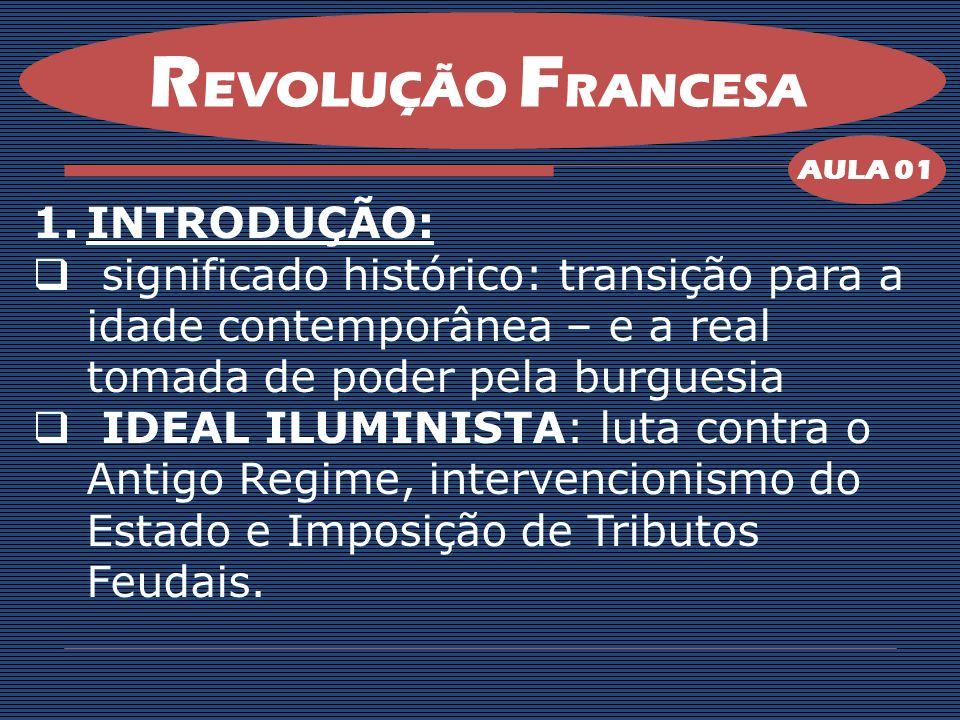 REVOLUÇÃO FRANCESA INTRODUÇÃO: