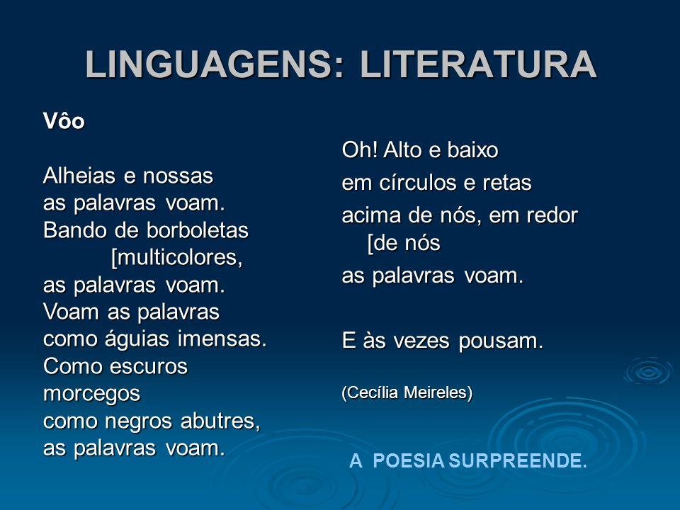 LINGUAGENS: LITERATURA