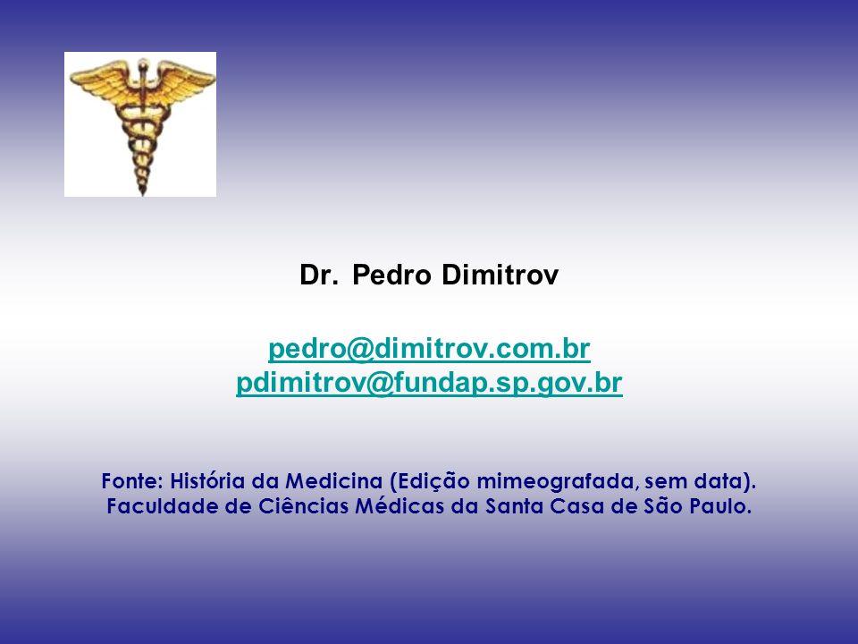 Dr. Pedro Dimitrov pedro@dimitrov. com. br pdimitrov@fundap. sp. gov