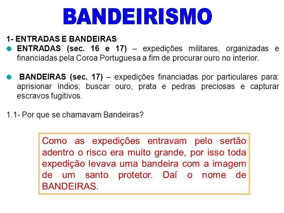 BANDEIRISMO 1- ENTRADAS E BANDEIRAS.