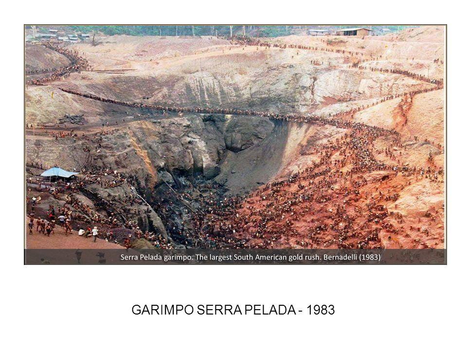 GARIMPO SERRA PELADA - 1983