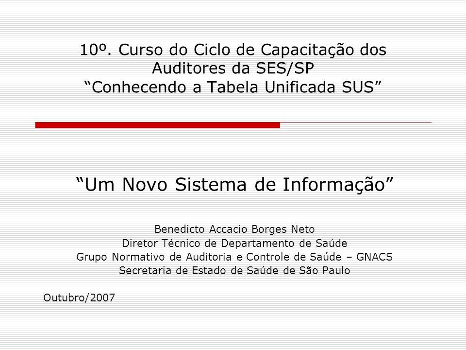Um Novo Sistema de Informação