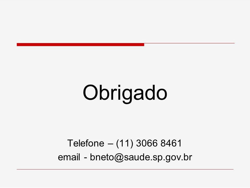 email - bneto@saude.sp.gov.br