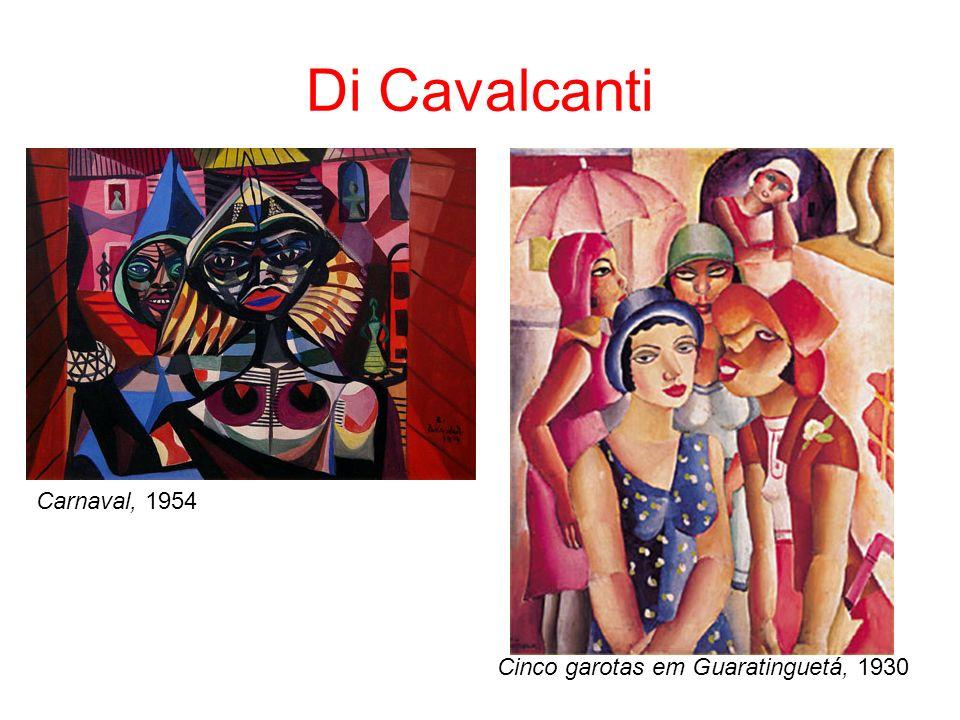 Di Cavalcanti Carnaval, 1954 Cinco garotas em Guaratinguetá, 1930