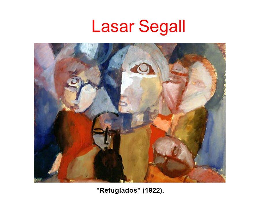 Lasar Segall Refugiados (1922),