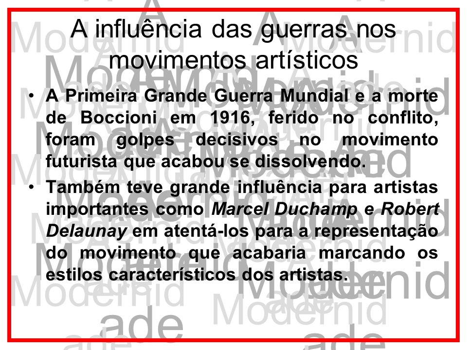A influência das guerras nos movimentos artísticos