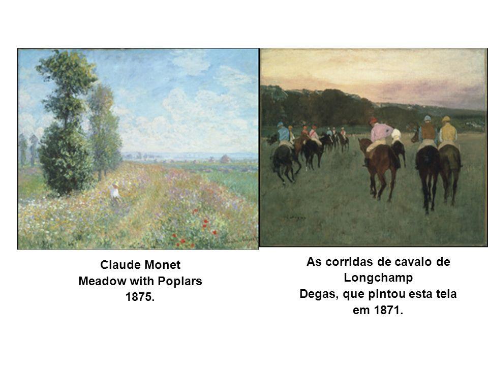 As corridas de cavalo de Degas, que pintou esta tela