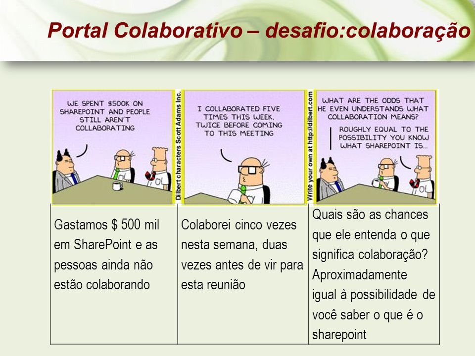 Portal Colaborativo – desafio:colaboração
