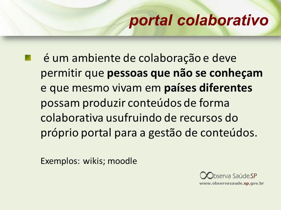 portal colaborativo
