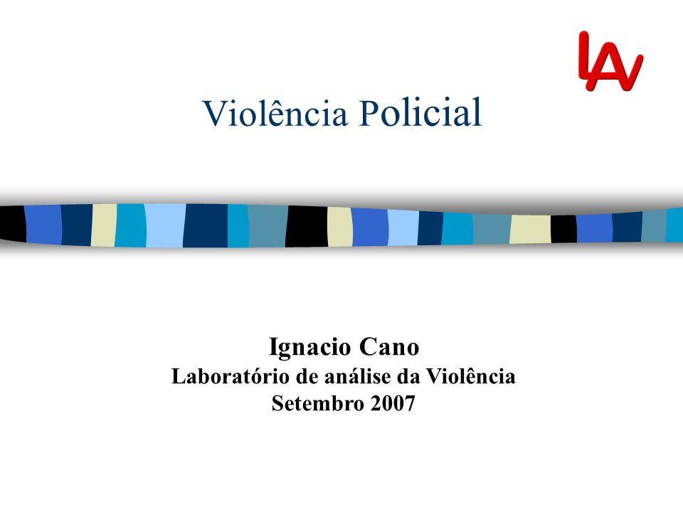 Laboratório de análise da Violência