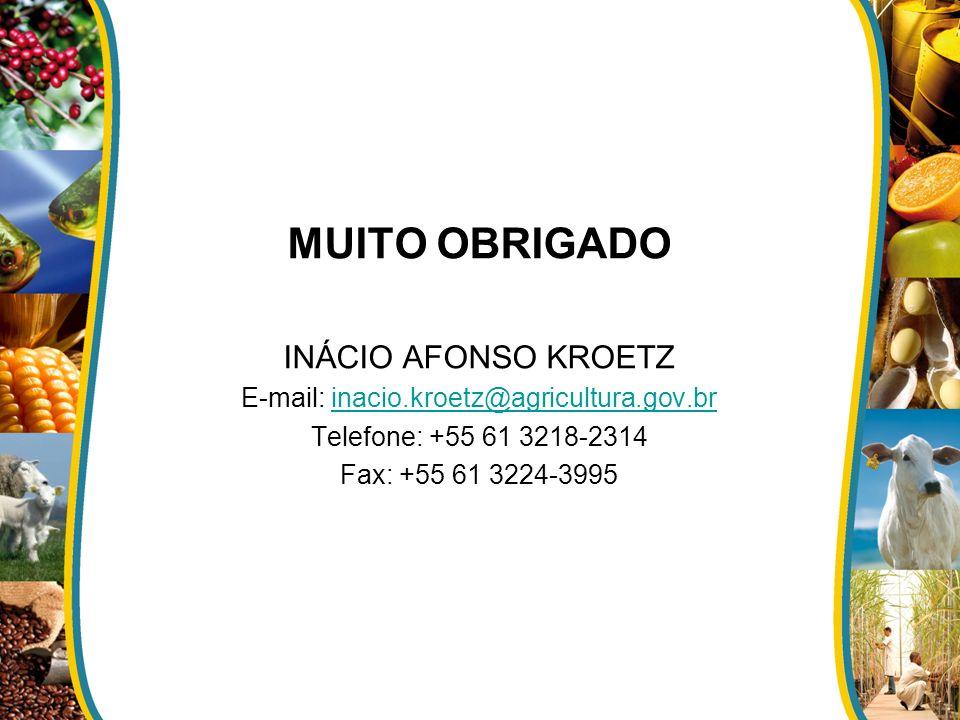 E-mail: inacio.kroetz@agricultura.gov.br