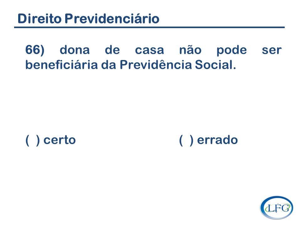 Direito Previdenciário