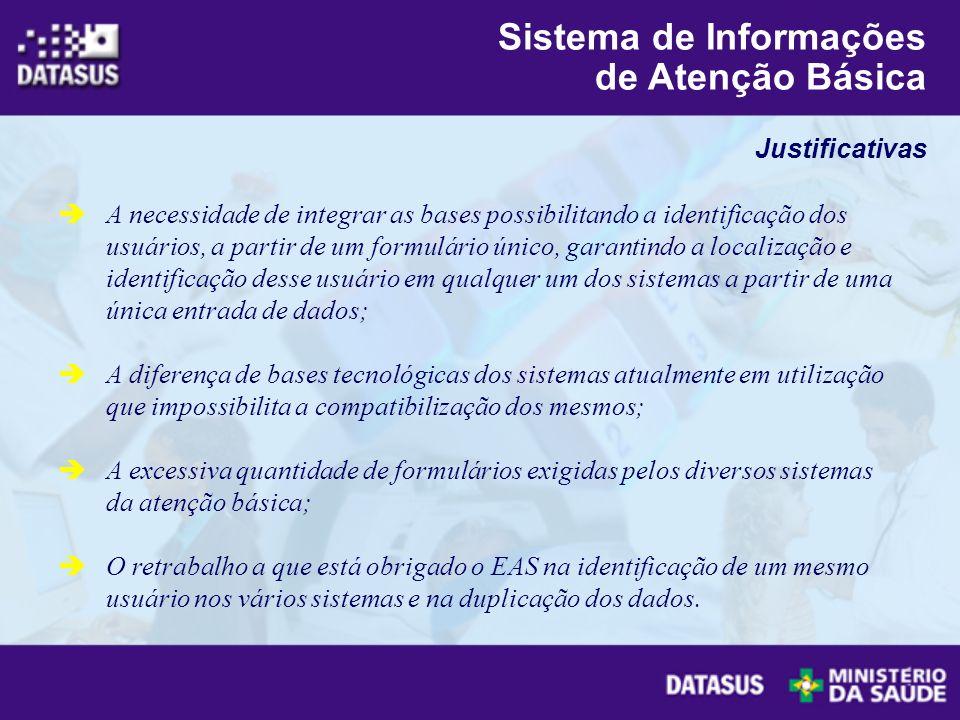Sistema de Informações de Atenção Básica