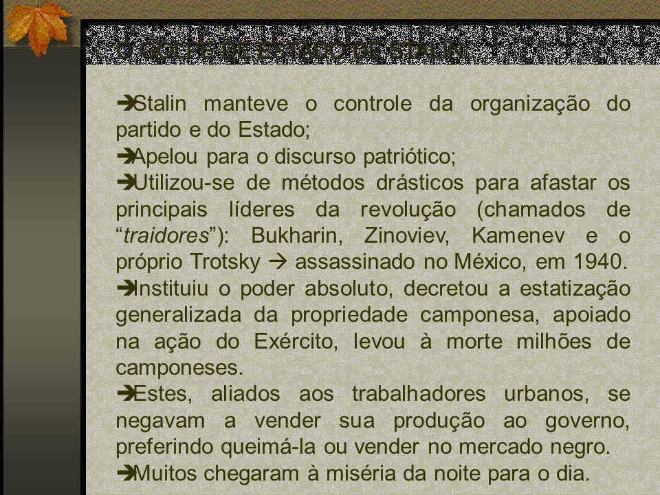 O GOLPE DE ESTADO DE STALIN:
