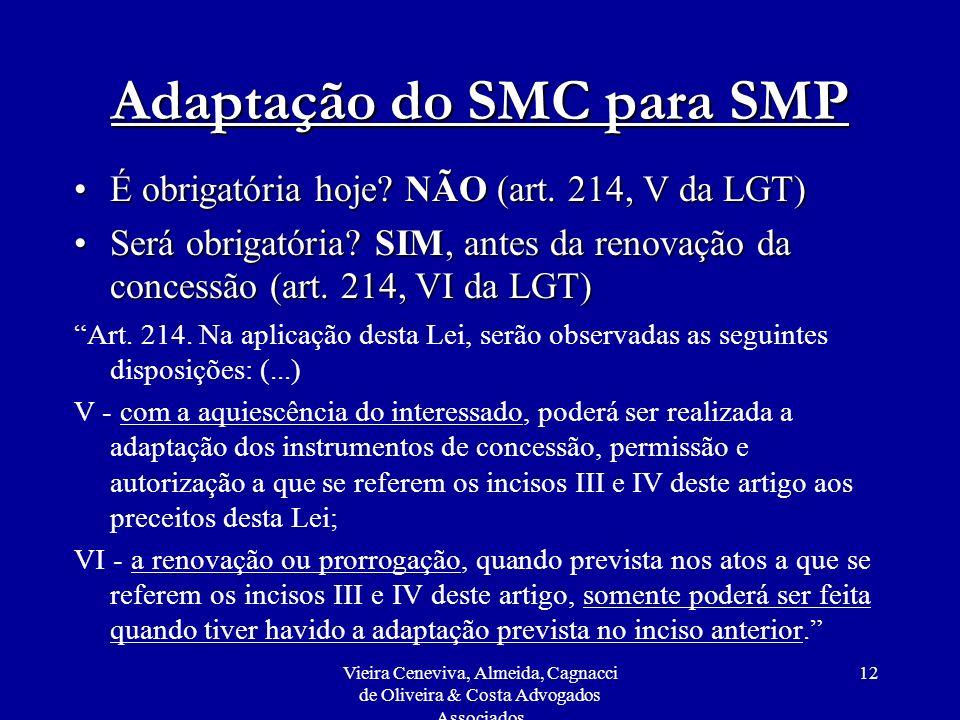 Adaptação do SMC para SMP