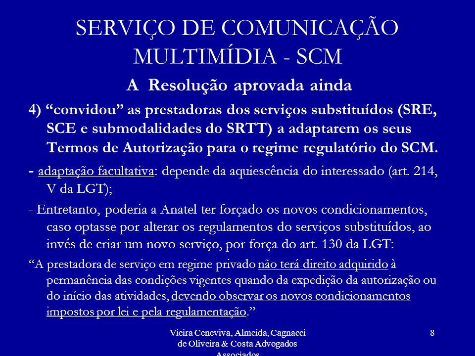 SERVIÇO DE COMUNICAÇÃO MULTIMÍDIA - SCM