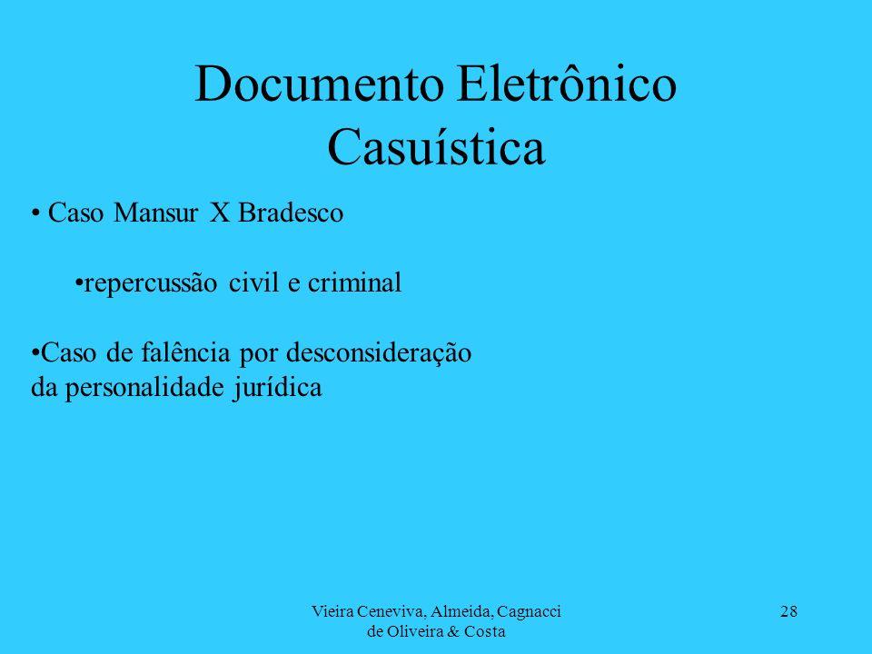 Documento Eletrônico Casuística