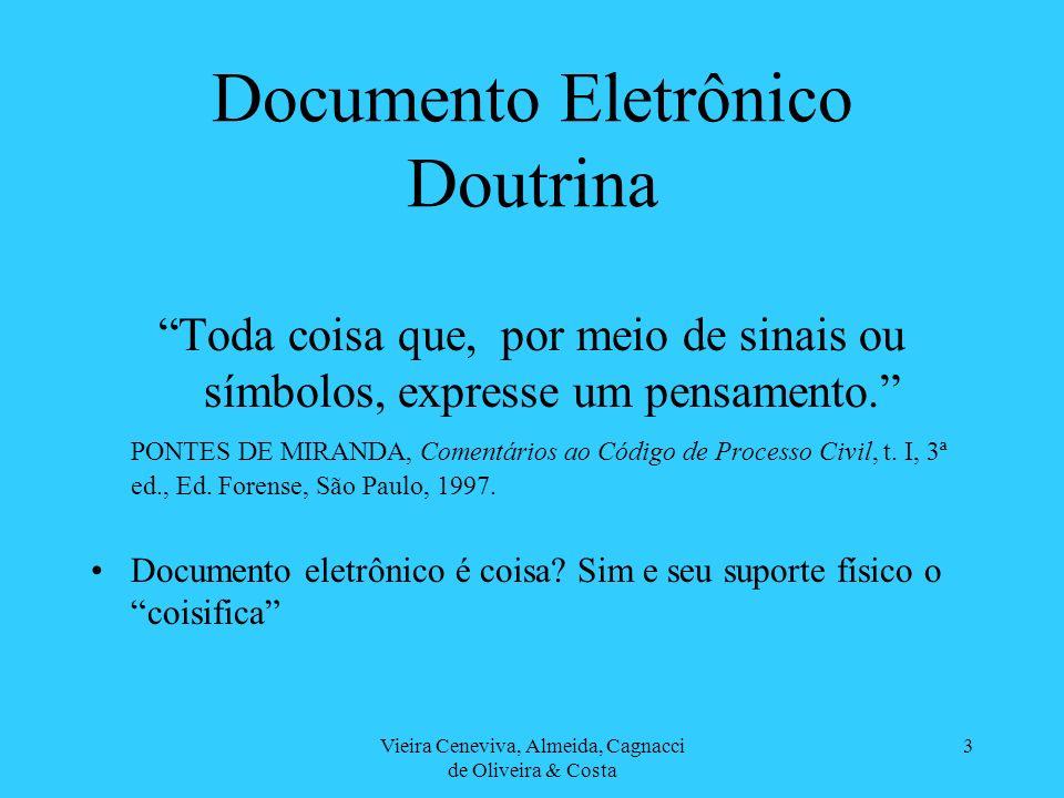 Documento Eletrônico Doutrina