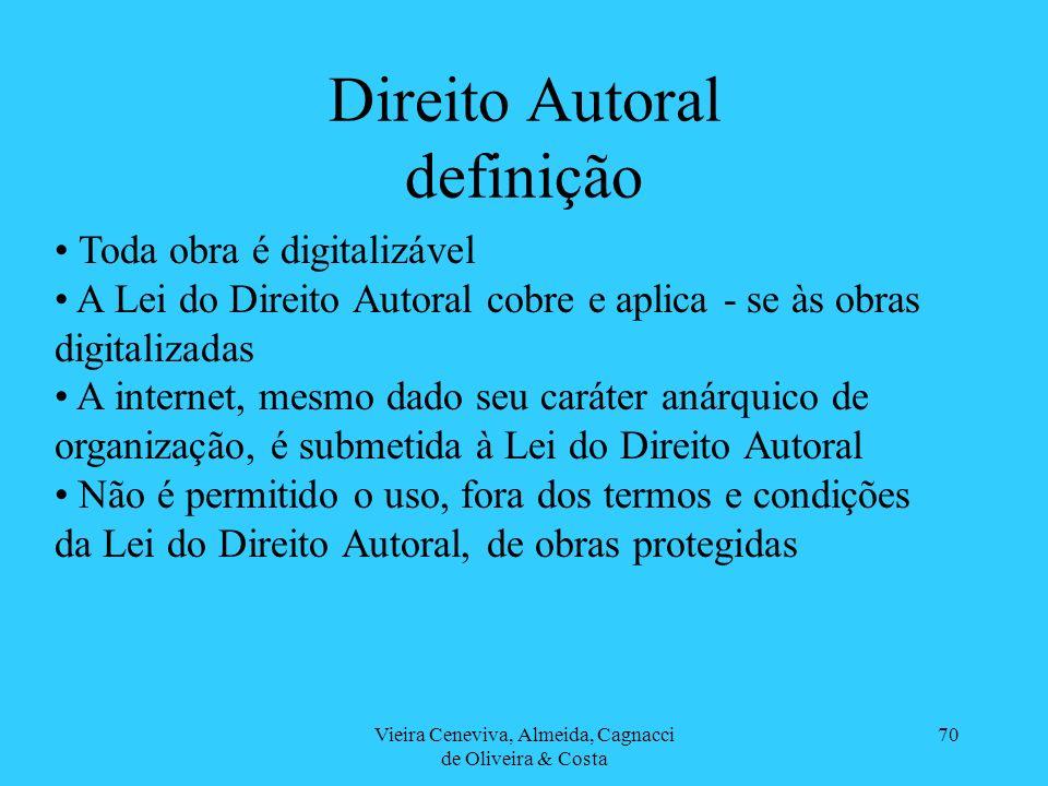 Direito Autoral definição