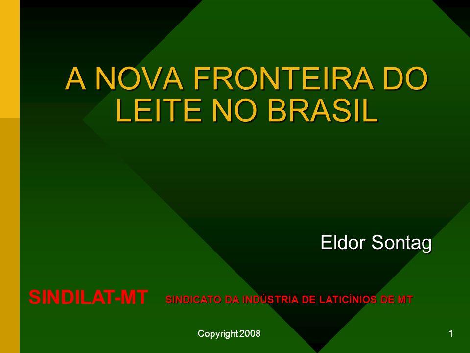 A NOVA FRONTEIRA DO LEITE NO BRASIL