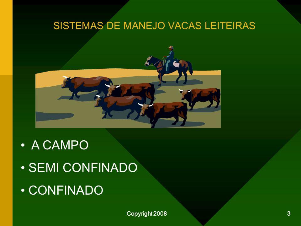 SISTEMAS DE MANEJO VACAS LEITEIRAS