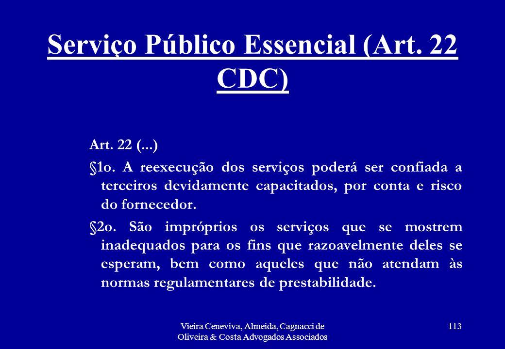 Serviço Público Essencial (Art. 22 CDC)