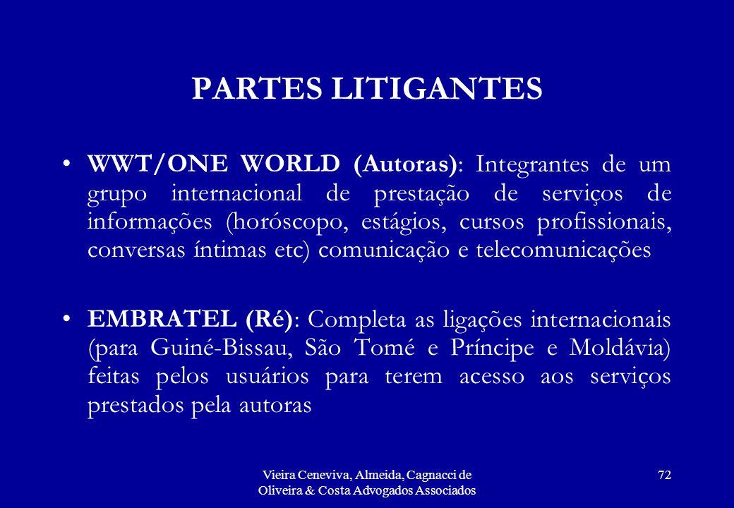 PARTES LITIGANTES