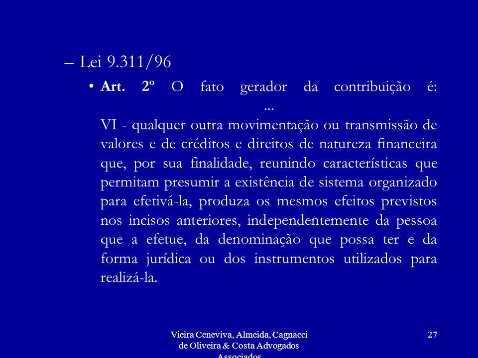 Lei 9.311/96