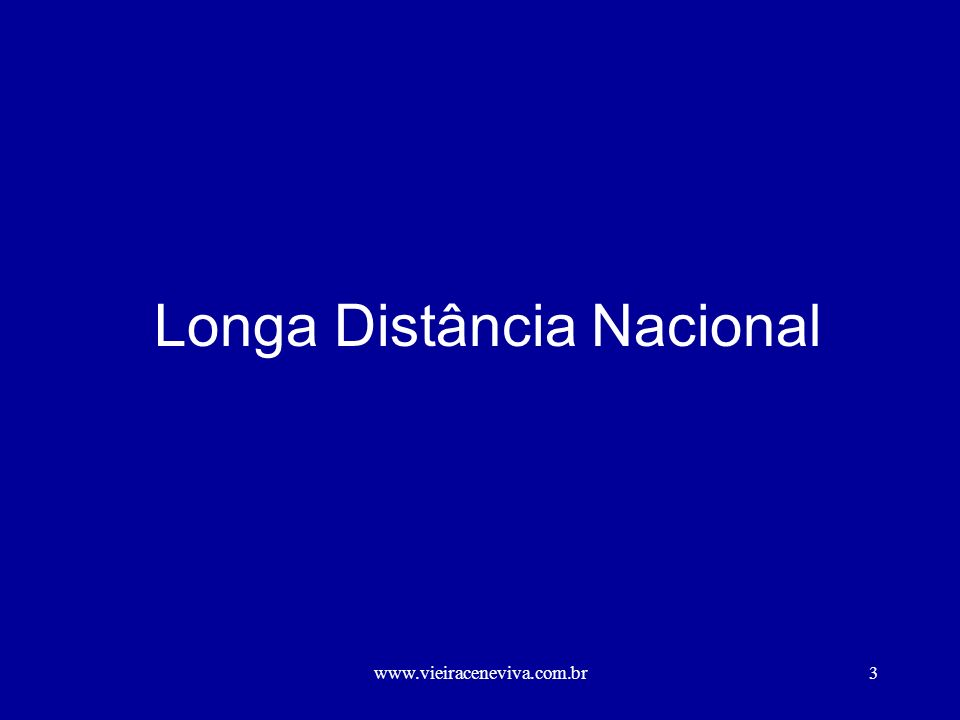 Longa Distância Nacional