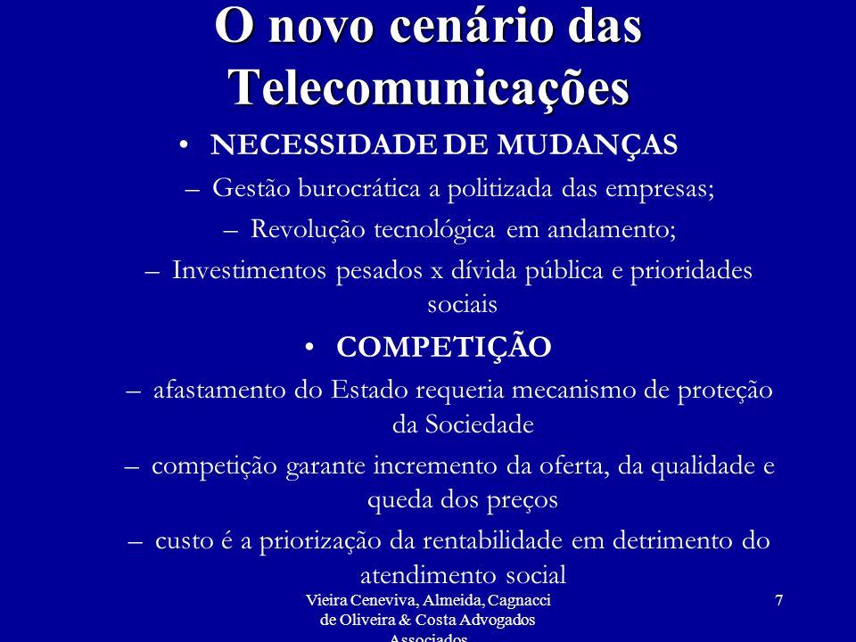 O novo cenário das Telecomunicações