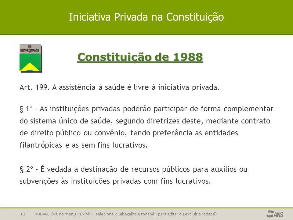 Iniciativa Privada na Constituição