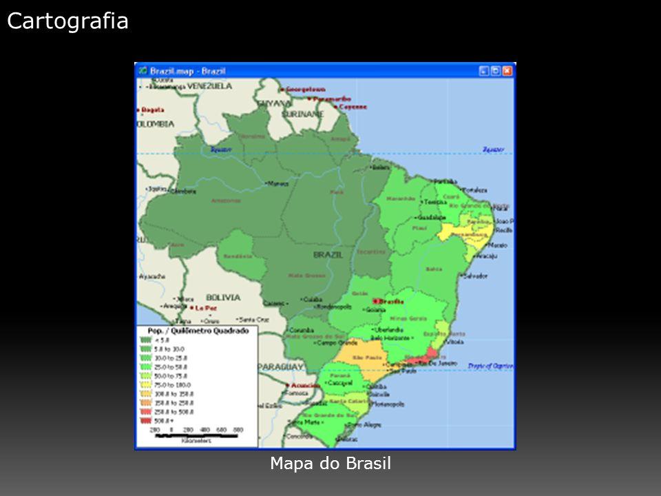Cartografia Mapa do Brasil