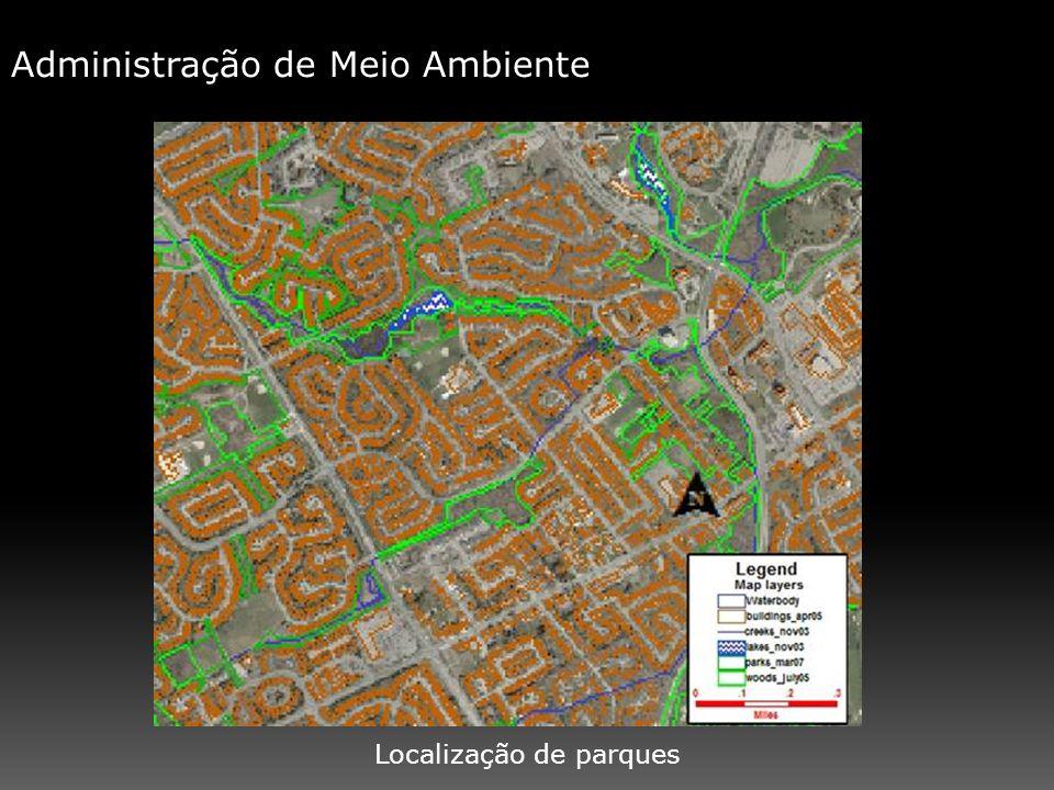Localização de parques