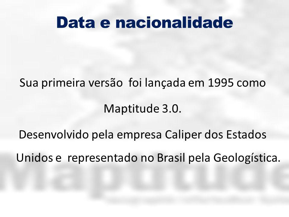 Data e nacionalidade