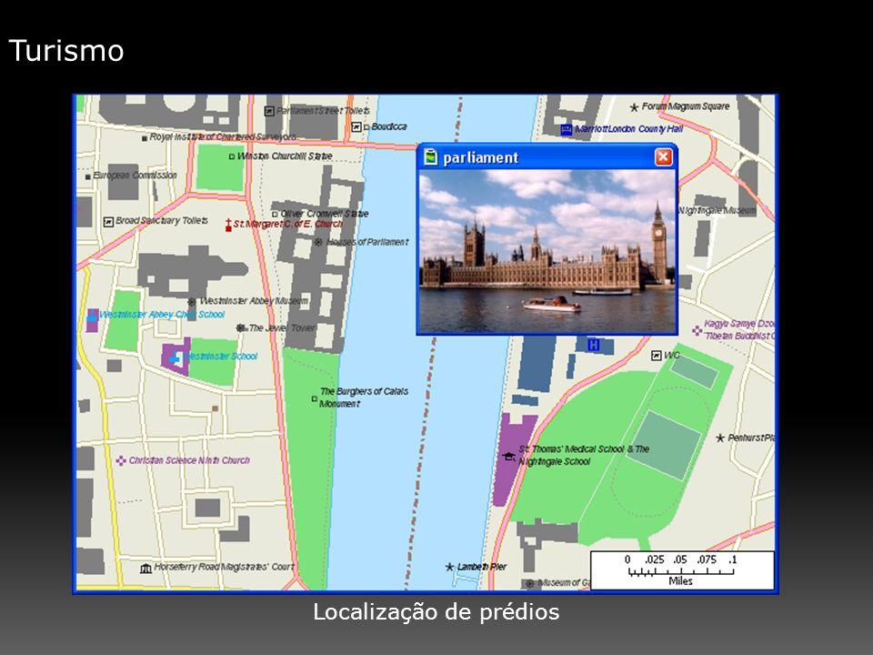 Localização de prédios