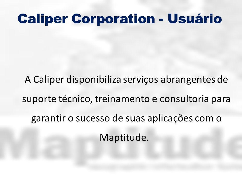 Caliper Corporation - Usuário