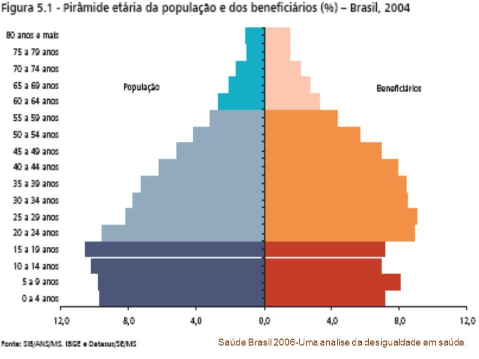 Saúde Brasil 2006-Uma analise da desigualdade em saúde