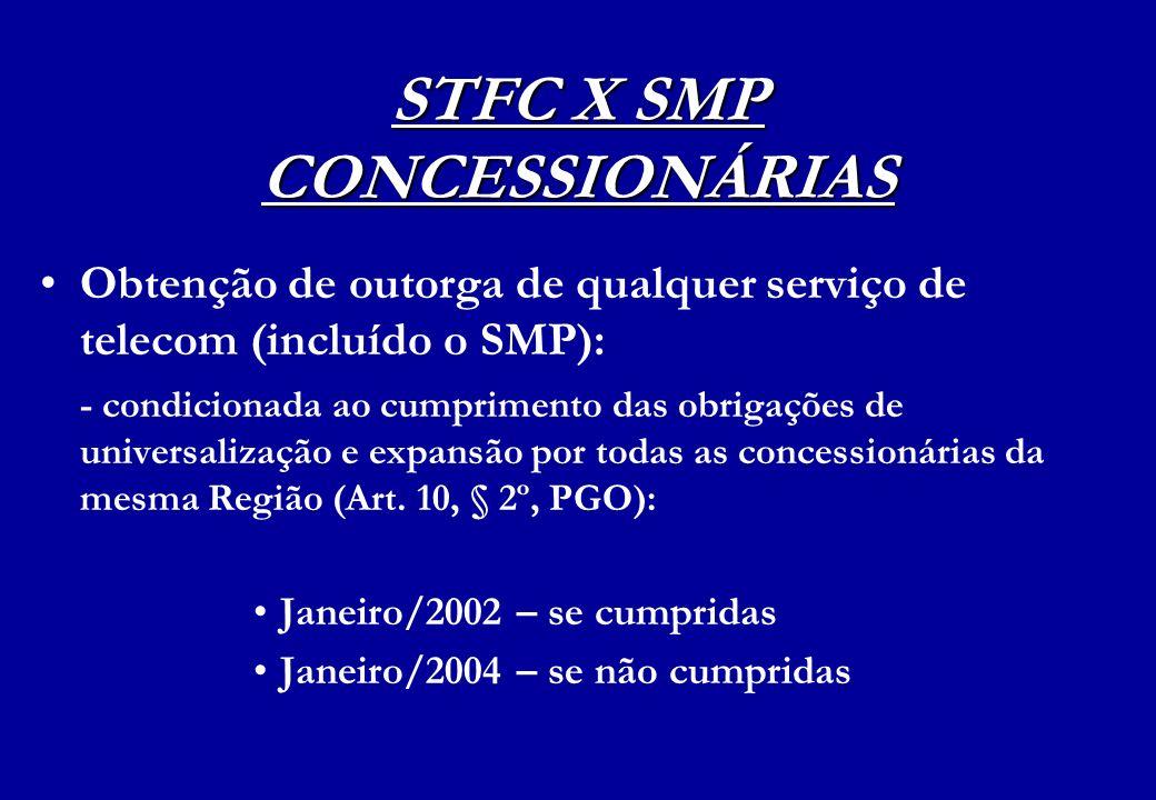 STFC X SMP CONCESSIONÁRIAS