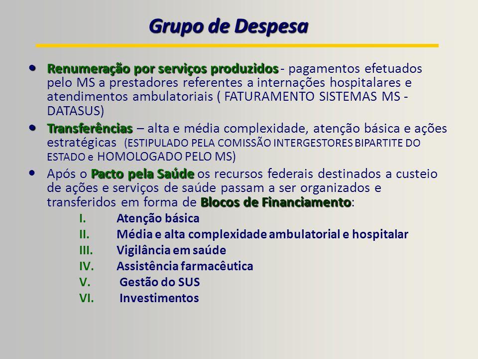 Grupo de Despesa